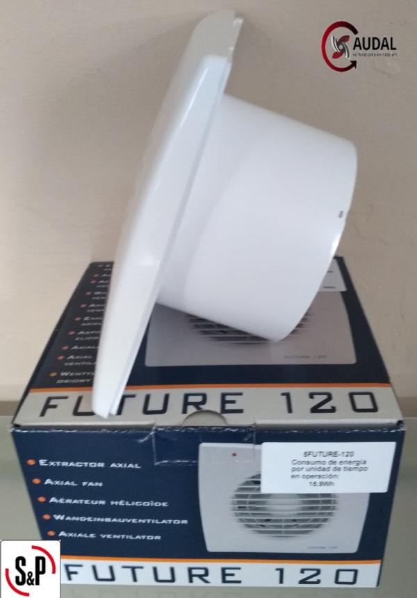 Extractor de aire para baño modelo FUTURE 120 - Caudal ...